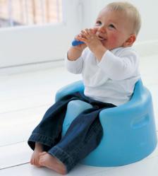 Sedeći položaj kod bebe