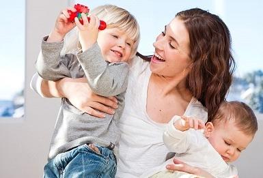 Taggovorenje Mama I Beba